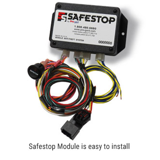 Safestop Module is easy to install
